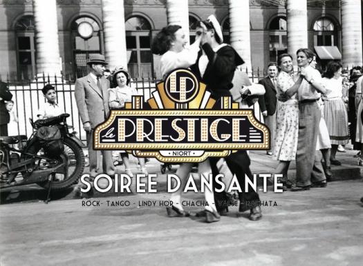 Bal populaire - 14 Juillet 1952 - Place de la Bourse - 75002 Paris